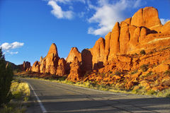 Magnificent road. Stock Images