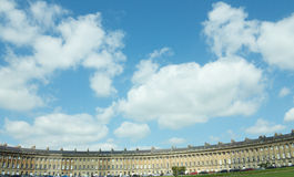 The magnificent royal crescent Stock Photo