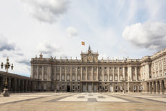 The magnificent Royal Palace in Madrid Stock Image