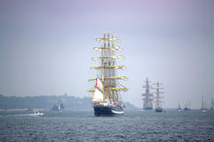Magnificent sea ships tale Royalty Free Stock Photos