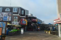Magnificent Shops At The Pier 39 In San Francisco. Travel Holidays Arquitecture stock photos