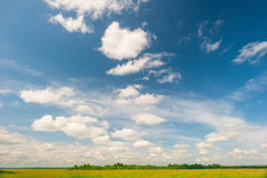 Magnificent sky with beautiful clouds Royalty Free Stock Photography