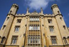The magnificent St. John's College in Cambridge. The magnificent architecture of St. John's College in Cambridge, UK Stock Image