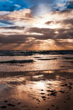 Magnificent sunset Royalty Free Stock Photo