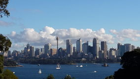 Magnificent Sydney Tough Standing Royalty Free Stock Photography
