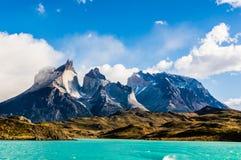 Magnificent Torres Del Paine Stockbild