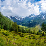Magnificent view of the Alps Royalty Free Stock Image