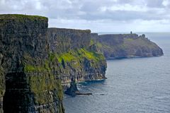 Magnificent view of the Cliffs of Moher Royalty Free Stock Photos