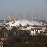 The magnificent view from the Greenwich Observatory taking in s stock images