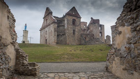 Magnificent view of old castle.  Royalty Free Stock Photos