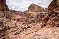 Magnificent view of Petra, Jordan Stock Image