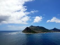 Magnificent view photographed at Chapman`s peak, South Africa