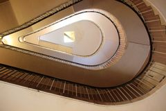 Magnificent View of Staircase Stock Images