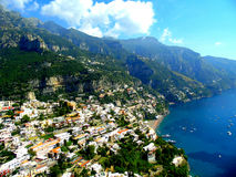 Magnificent views of Positano Royalty Free Stock Photo