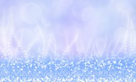 Magnificent winter magic background with glitter. Abstract winter magic background with glitter, snoflake, sparkle and bokeh royalty free illustration