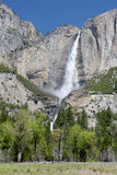 Magnificent yosemite fallls, yosemite nat park, california, usa Royalty Free Stock Images
