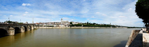 Magnificient Blois Stockfoto