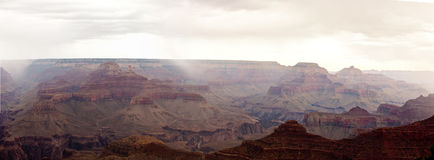 Magnificient Grand Canyon panorama- XXL Royaltyfria Foton