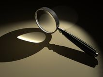 Magnifier 1 Royalty Free Stock Image
