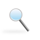 Magnifier. Nice magnifier for web, websites and other things Royalty Free Stock Photos
