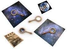 Magnifier Royalty-vrije Stock Fotografie