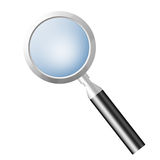 Magnifier. Icon for web usage, you can use as search icon or other things royalty free illustration