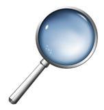 Magnifier illustrazione di stock