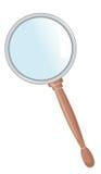 magnifier Fotografia Stock