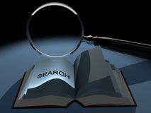 Magnifier 8 Royalty Free Stock Photography