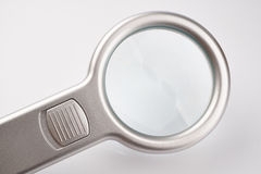 Magnifier. Close up  Magnifier on white background Royalty Free Stock Photography