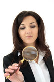 Magnifier glass Royalty Free Stock Images
