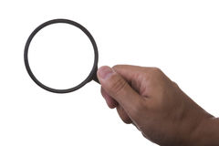 Magnifier glass Royalty Free Stock Image