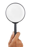 Magnifier Glass Loupe Royalty Free Stock Photography