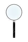 Magnifier in isolate on white. Stock Images