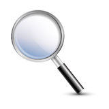 Magnifier, magnifying glass Royalty Free Stock Photos