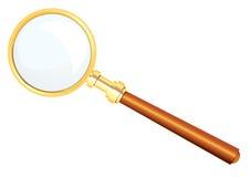 Magnifier, vector Stock Photos