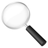Magnifier vector Royalty Free Stock Image