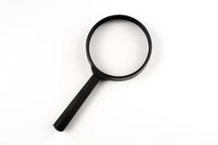 Magnifier White  background Royalty Free Stock Photography