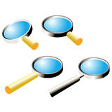 Magnifiers Stock Photography