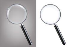 Magnifiers Ustawiający Obraz Stock