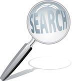 Magnifiez la recherche Images libres de droits