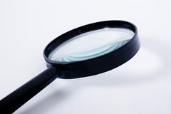 Magnifing glass Stock Photography