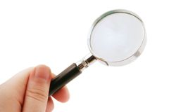 Magnify. Glass Royalty Free Stock Image
