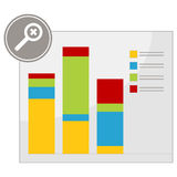 Magnify Chart Stock Images