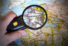 Magnify in France Royalty Free Stock Photo