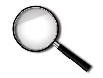 Magnify glass Stock Photo