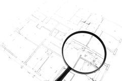 Magnify your house Stock Photo