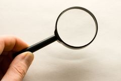 Magnifying glas Royalty Free Stock Image