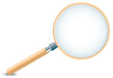 Magnifying Glass. Realistic illustration of magnifying glass vector illustration