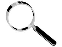 Magnifying glass. Vector illustration of an magnifying glass Royalty Free Stock Photography